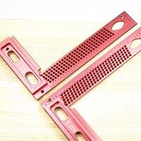 T-200 Precisão Medidor de Alumínio Buraco Scribing escriba Carpintaria Carpintaria Carpinteiro Riscador Dispositivo de Marcação