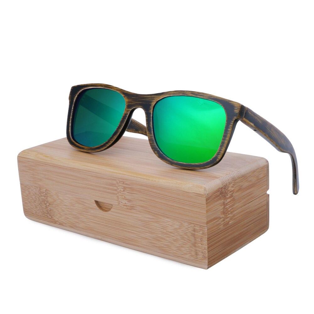BerWer 2017 font b fashion b font font b polarized b font sunglasses available Bamboo wooden