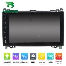 Quad Core 1024*600 Android 5.1 Reproductor de DVD Del Coche de Navegación GPS Estéreo Del Coche para el Benz W169 a-clase 2004-2012 Bluetooth Wifi/3G