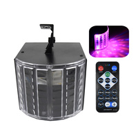 Mini Stage Light Lamp 6 Colors Lights Sound Activated Auto Disco Light with Remote Control for DJ Party Wedding Club Pub KTV
