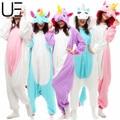 Adults Flannel Pyjama Suits Cosplay Costumes Garment Cute Cartoon Animal Onesies Pajamas Pikachu Halloween Free Shipping