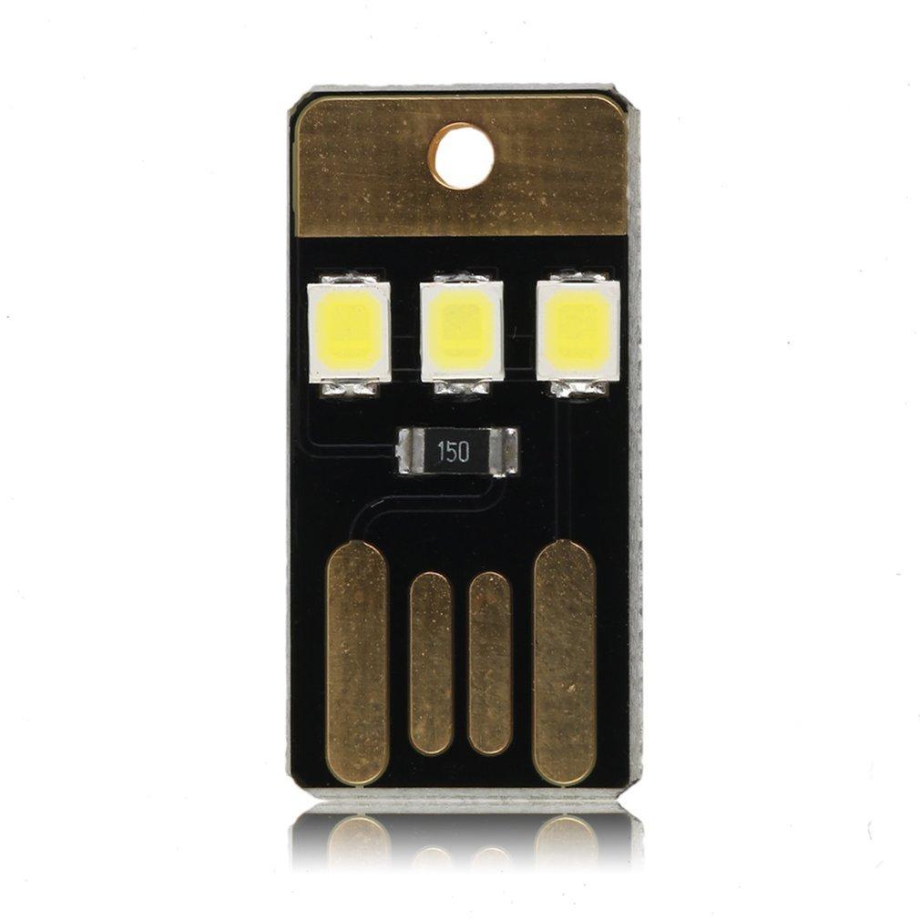 Icoco Mini Usb Power Led Light Ultra Low Power 2835 Chips Pocket Card Lamp Portable Night Camp Drop Shipping Lights & Lighting