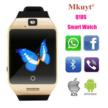 Купить онлайн MKUYT Q18S Bluetooth Smart Watches with Camera and SIM TF card Slot Watches Compatible with Android iPhone for Women Men Kids