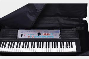 Image 5 - Moda su geçirmez kalınlaşmış profesyonel 76 anahtar evrensel enstrüman klavye çantası elektronik piyano kapağı için elektronik kasa
