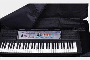 Image 5 - Mode Wasserdicht verdickt Professionelle 76 schlüssel universal Instrument tastatur tasche elektronische klavier abdeckung fall für elektronische