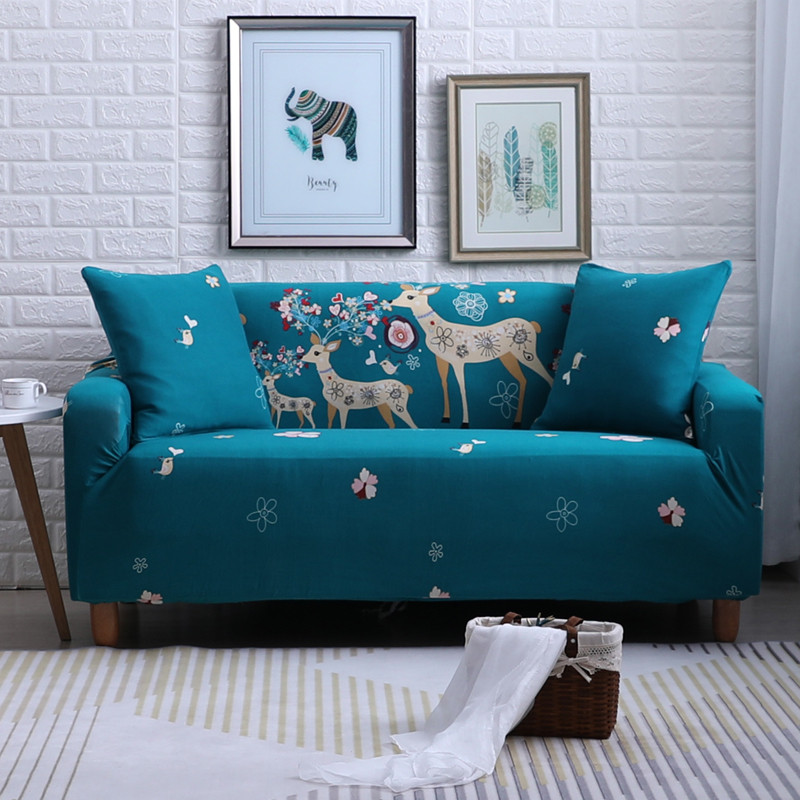 Sofa Cover Table & Sofa Linens Sincere Printed Pattern Latest Polyester Fabric Sofa Cover European Style Comfortable Soft Sofa Decoration Simple Home Sofa Cover