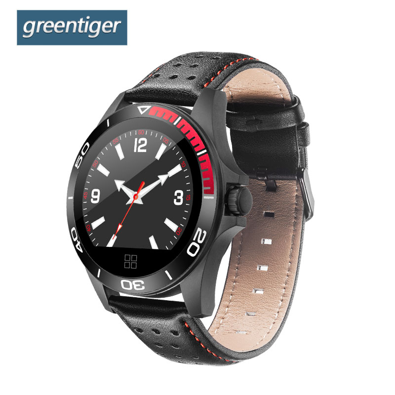 Greentiger CK21 Smart Watch Men Activity Fitness Tracker Heart Rate Blood Pressure Monitor IP67 Waterproof Sport Smartwatch colmi v11 smart watch ip67 waterproof tempered glass activity fitness tracker heart rate monitor brim men women smartwatch
