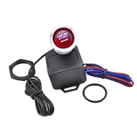 New Portable 12V Car Universal Engine Start Push Button Switch Ignition Starter Kit One Key To