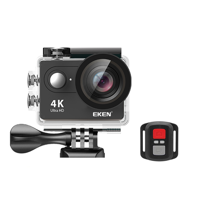 Image 2 - Eken 4K Action camera Original EKEN H9 / H9R remote Ultra HD 4K WiFi 1080P 60fps sports waterproof pro drone camera-in Sports & Action Video Camera from Consumer Electronics