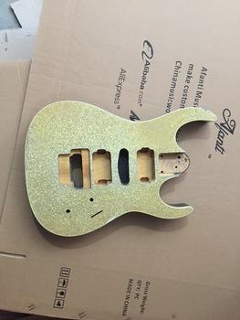 DIY gitara elektryczna DIY gitara elektryczna korpus Afanti music (ADK-379) tanie i dobre opinie Beginner Unisex Do profesjonalnych wykonań Nauka w domu Blokowany klucz LIPA none Electric guitar Body