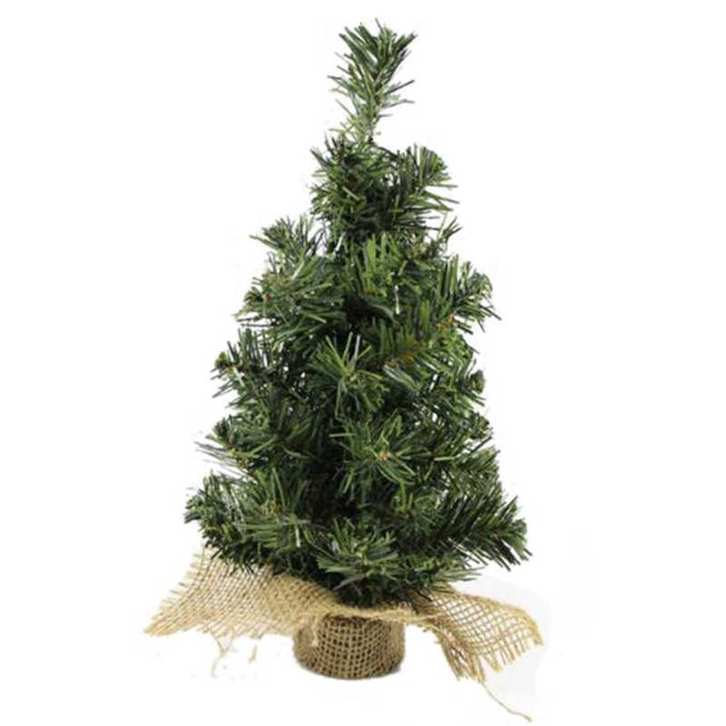 Mini Christmas Tree Decoration Christmas Holiday Decorations Delicate Adornment #2o29 (1)