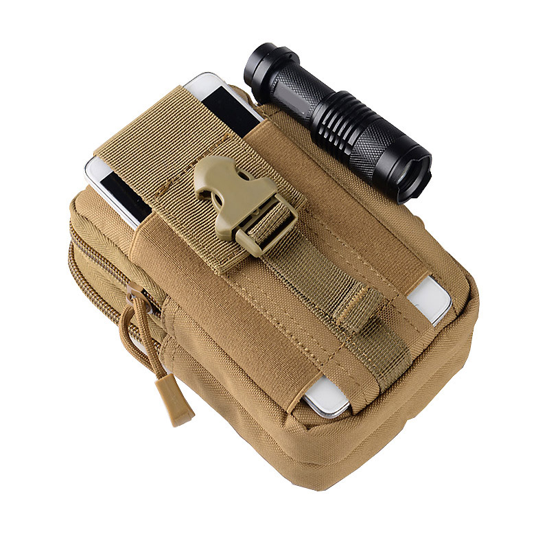 Multifunction High Capacity Tactical Military Men Sport Waist Bag Waterproof Running Bag Camping Fanny Pack For phone Coin Purse