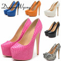 New hot 14cm thin heels fashion wind matt nightclub super high heels shoes large size shoes Eur 35-42  4cm waterproof
