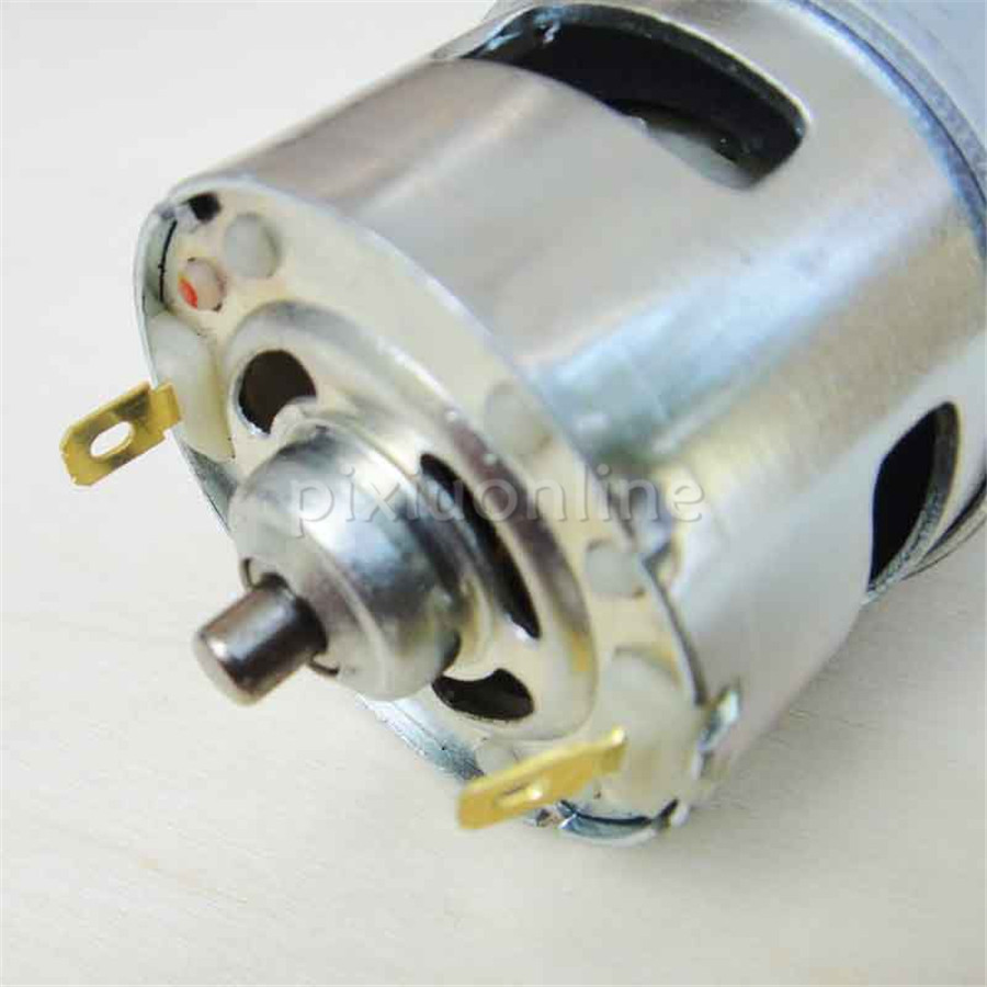 J282b D-shaped Shaft 775 DC Motor 12V 0.27A Large Torque Motor DIY Handheld Electric Tools Sell at a Loss France j52b diy technology model making solar energy dc motor electric fan hand making teaching students use sale at a loss brazil