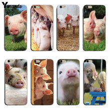 Yinuoda Animal Pig Cover cases For iphone 8 plus Phone Cases For iPhone 6 6plus 7 7Plus 8 8plus X XS XR XSMax(China)
