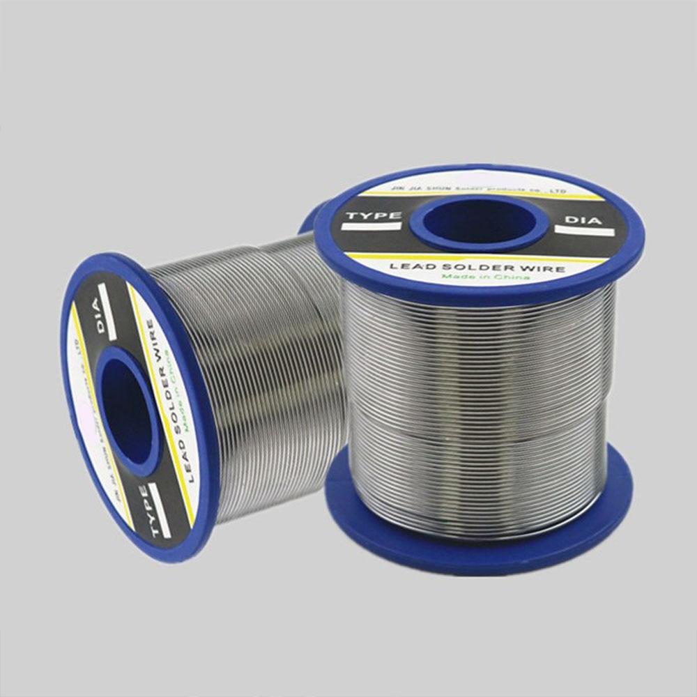 New Arrival 63/37 Tin 0.8/ 1.0/ 2.0 mm Rosin Core Tin/Lead Rosin Roll Flux Reel Lead Melt Core Soldering Tin Solder Wire