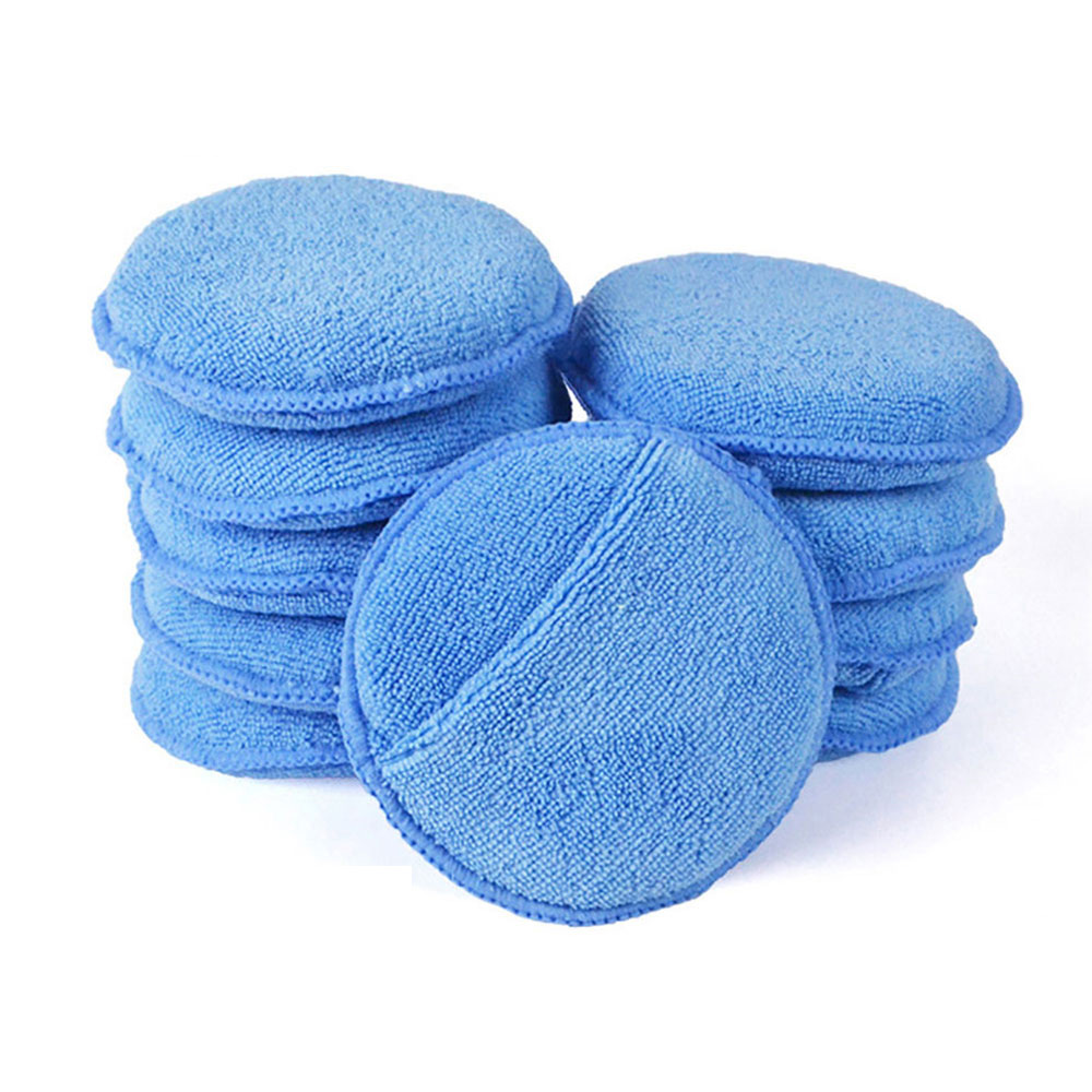 Microfiber Wax Applicator Pad 5