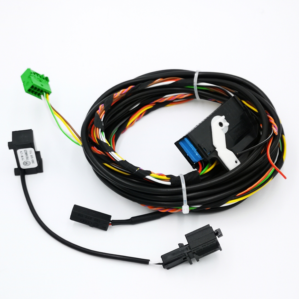 FOR VW Bluetooth Wiring Harness cable 8X0035447A For RCD510 RNS510 Tiguan  GOLF GTI Jetta Passat CC With Microphone 8X0035447A-in Cables, Adapters &  Sockets ...
