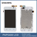white for prestigio MultiPhone PAP 5400 DUO SmartPhone SmartPhone LCD Display +Touch Screen digitizer Assembly With Frame