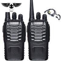 BAOFENG 2pcs Walkie Talkie Radio BaoFeng BF 888S 5W Portable Ham CB Radio Two Way Handheld
