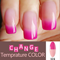 Mood Changing Gel Nail Polish Long-Lasting Soak-Off Led UV Gel Lacquer Chameleon Nail Gel Manicure Varnish