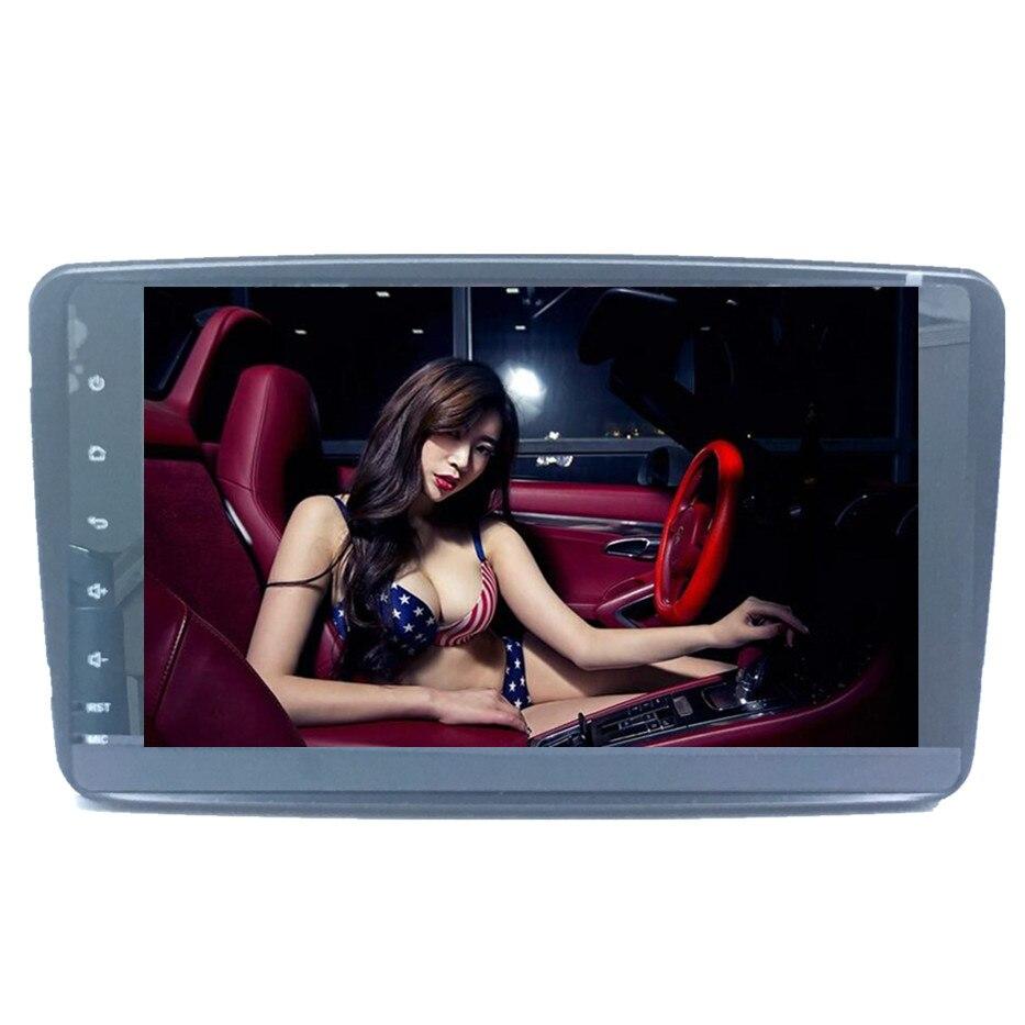 ZOYOSKII Android 8.0 8.1 8 pouces voiture DVD Radio GPS bluetooth lecteur de Navigation pour pour Mercedes Benz W209 W203 W168 M ML W163 W463