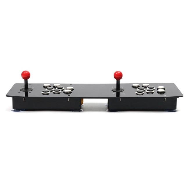 Ergonomic Design Double Arcade Stick Video Game Joystick Controller Gamepad For Windows PC Enjoy Fun Game