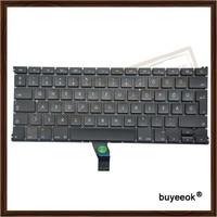 Original New A1369 Hungarian Keyboard For Apple Macbook Air 13 A1369 Hungry Language Keyboard