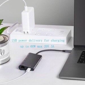 Image 4 - Hub USB C HDMI adapter do Macbooka Pro/powietrza 2018 HP Dell XPS Inspiron Latitude Lenovo Thinkpad jogi Acer Asus stacja dokująca