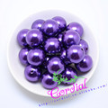 Free Shipping 110pcs/lot, (A67) 20mm Acrylic Pearl Beads A67,Chunky Beads For Jewelry Making
