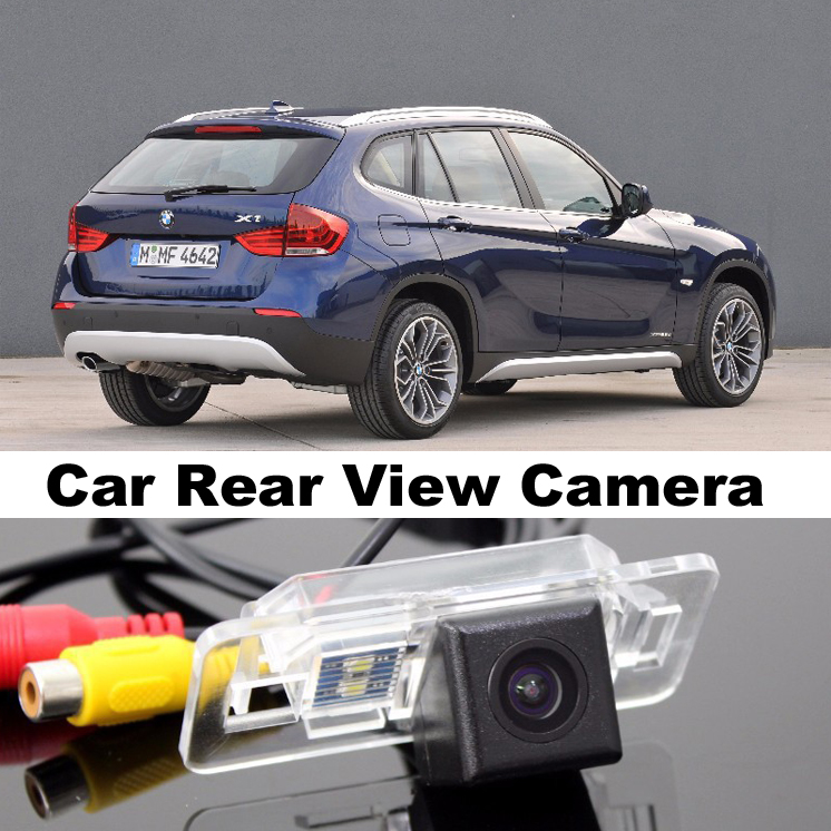 Car Camera For BMW X1 E84 2009~2014 High Quality Rear View Back Up Camera For Top Gear Friends to Use  CCD With RCA