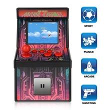 Çocuklar için en iyi hediye Taşınabilir El Oyun Konsolu ile 200 Klasik Oyun Mini Arcade Oyunları Retro Tiny video oyunu Çarşı Ka...
