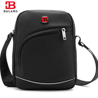 BALANG Casual Crossbody Small Bags For Men Shoulder Large Capacity Chest Pack Oxford Waterproof Messenger Bag