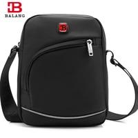 BALANG Casual Crossbody Small Bags For Men Shoulder Large Capacity Chest Pack Oxford Waterproof Messenger Bag