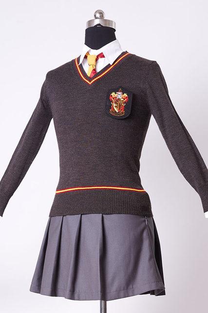 Adult Version Hermione Granger Cosplay Costume Adult Gryffindor Robe Uniform Dress Set For Women Girls Full Sets & Online Shop Adult Version Hermione Granger Cosplay Costume Adult ...