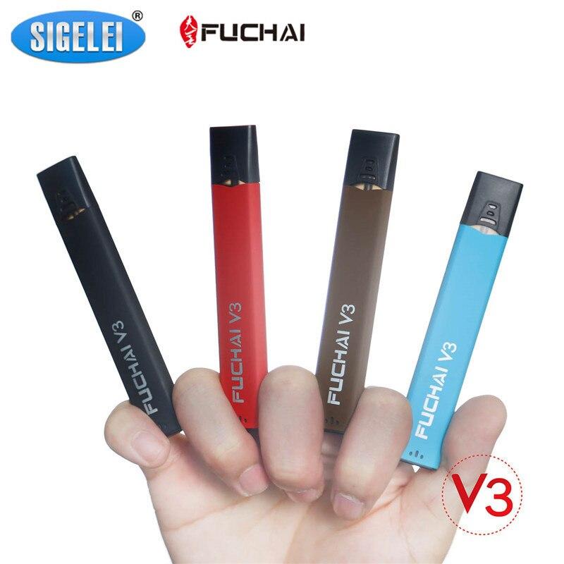 Sigelei Fuchai V3 Cigarette Électronique Vaporisateur Kit 5.5 W Mod Boîte 1.5 ml Capacité Réservoir Atomiseur USB Rechargeable Batterie