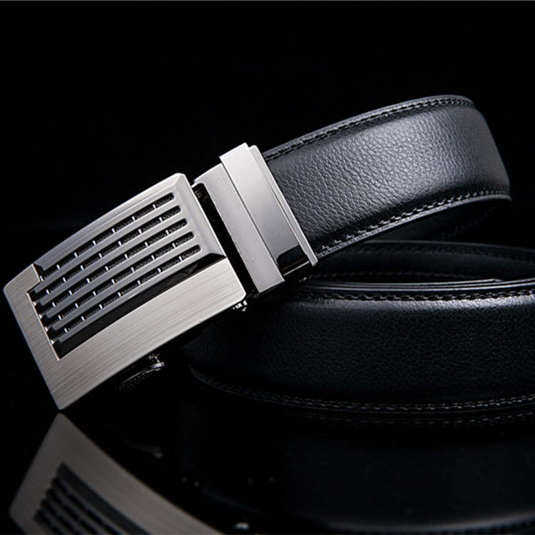 New Men Brand Belt Business Luxury Brands Genuine Leather Belt Men Width 3.5CM Designer High Quality Genuine Leather Belt