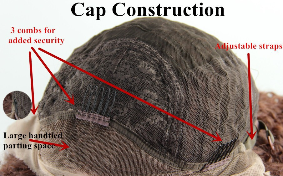 perucas sintéticas da parte dianteira do laço