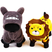 Cool Design Dog Clothes Warm Autumn Spring Hoodie Fleece Coat Lovely Jumpsuit Four Leg Clothing For Pet Dogs Cat with XS/S/M/L