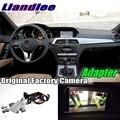 Liandlee Автомобильный задний Интерфейс камеры декодер адаптера наборы для Mercedes Benz C MB W204 2007 ~ 2014 NTG система обновления