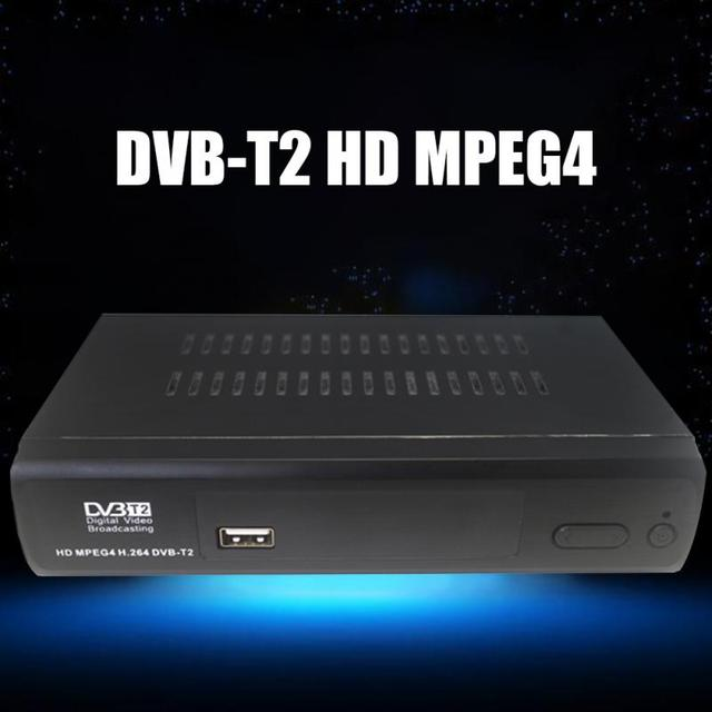1080P Full HD Remote Control SET TOP BOX Terrestrial receiver HD Digital DVB T2 Tuner TV Box