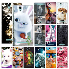 Phone Case For Sony Xperia XA1 Ultra Z3 Compact Z3 Mini E5 C3 XA Z5 M5 e5 Case Cover for Sony Xperia XA1 Ultra Cases Cover Coque(China)