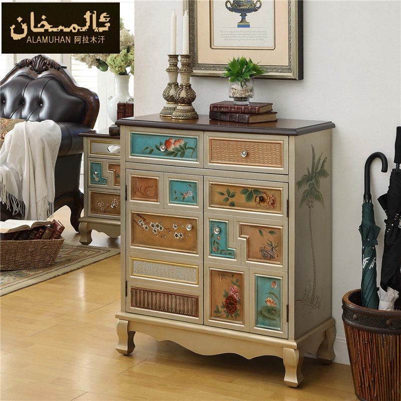 aliexpress.com : buy ems free modern vintage entrance shoe cabinet ... - Wohnzimmermobel Modern