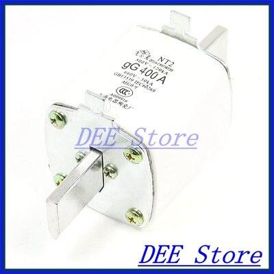 500V/120kA 660V/50kA Low Voltage Blade Contact Ceramic Fuse Link NT2-400A 500v 120ka 660v 50ka low voltage blade contact ceramic fuse link nt2 400a