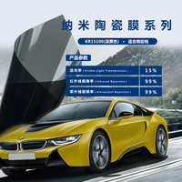 1.52m30m UV Rejected Heat Insulation Anti scratch safety tints thickened 4 mil solar tint for car windows and building glass