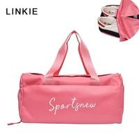 Sport Gym Bag Men Women Fitness handbag Yoga Nylon Training Travel bag Ultralight Duffle Shoes Small Sac De Sport