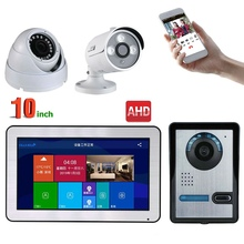 Doorbell-Intercom Door-Phone Video Security-Camera Wired Entry-System Wifi MOUNTAINONE