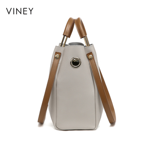 Image 4 - Viney דלי תיק אישה 2019 חדש צ או קוריאני גרסה Baitao אלכסון תיק אישה תיק אופנה פשוט יד ביל כתף תיק