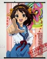 Anime Suzumiya Haruhi Home Decor Poster Wall Scroll