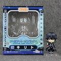 Nuevo Personaje de la Espada de Arte En Línea SAO Kirito Nendoroid cara cambiable 295 Figura de Juguete de Regalo Los Niños 10 cm con la caja